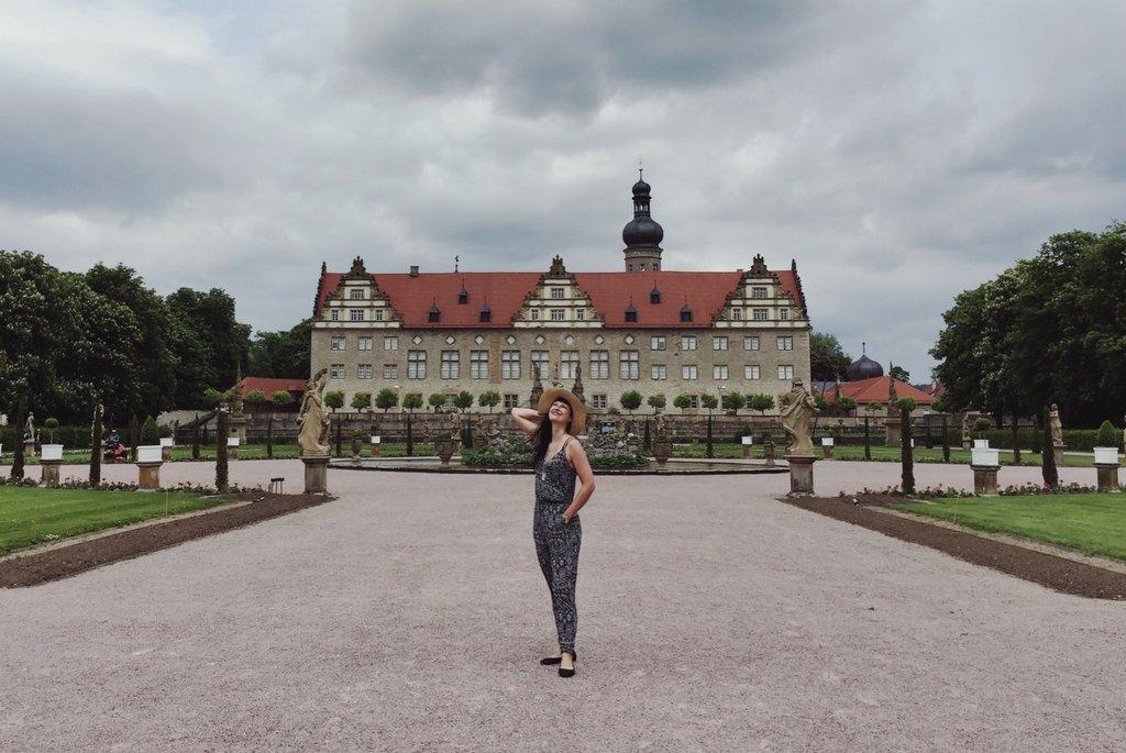 Schloss Weikersheim Sehenswuerdigkeit Baden Wuerttemberg