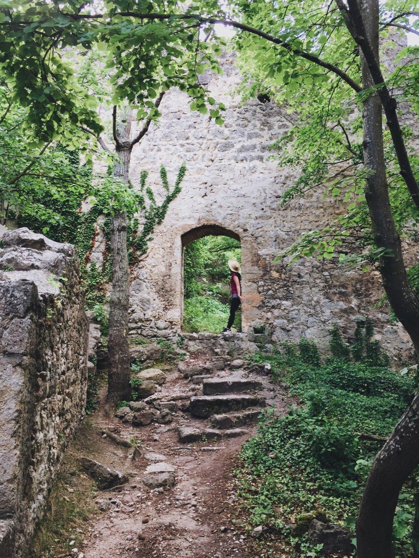 Burg Rauhenstein wandern Wienerwald