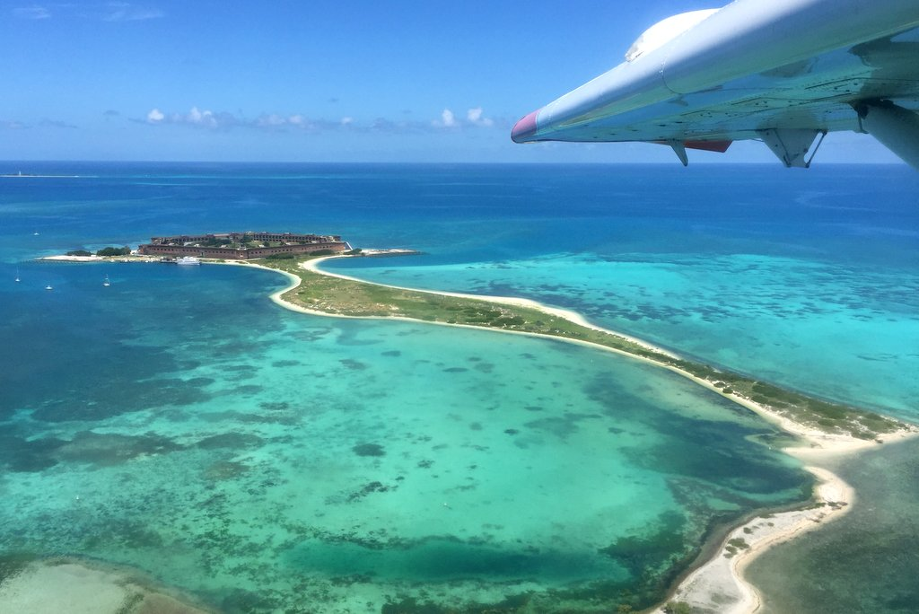 Dry Tortugas Fort Jefferson Seaplane Ausflug
