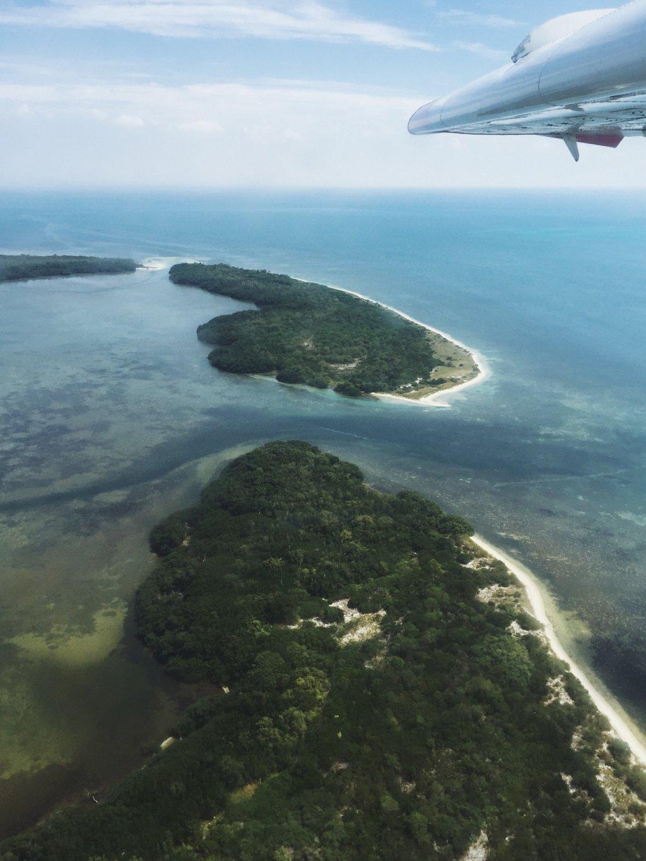 Florida-Keys-mit-dem-Wasserflugzeug-aus-der-Luft