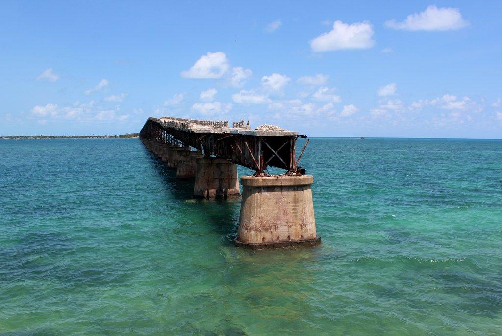 Alte Eisenbahnbruecke Florida Keys Bahia Honda