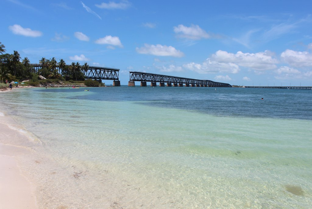 Bahia Honda State Park Bruecke Strand Florida Keys