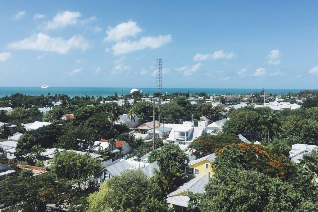 Blick-vom-Leuchtturm-Key-West