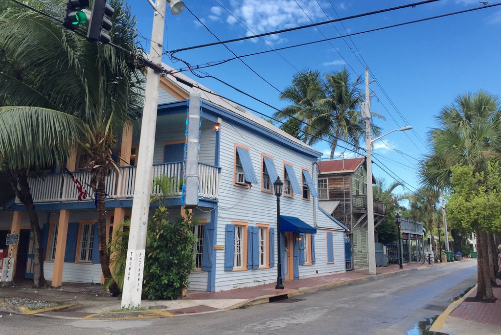 Blue Heaven Restaurant Bar Tipp Key West