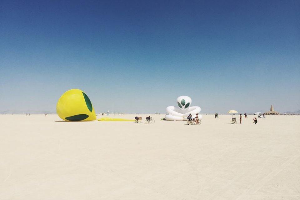 Burning Man Aliens 1