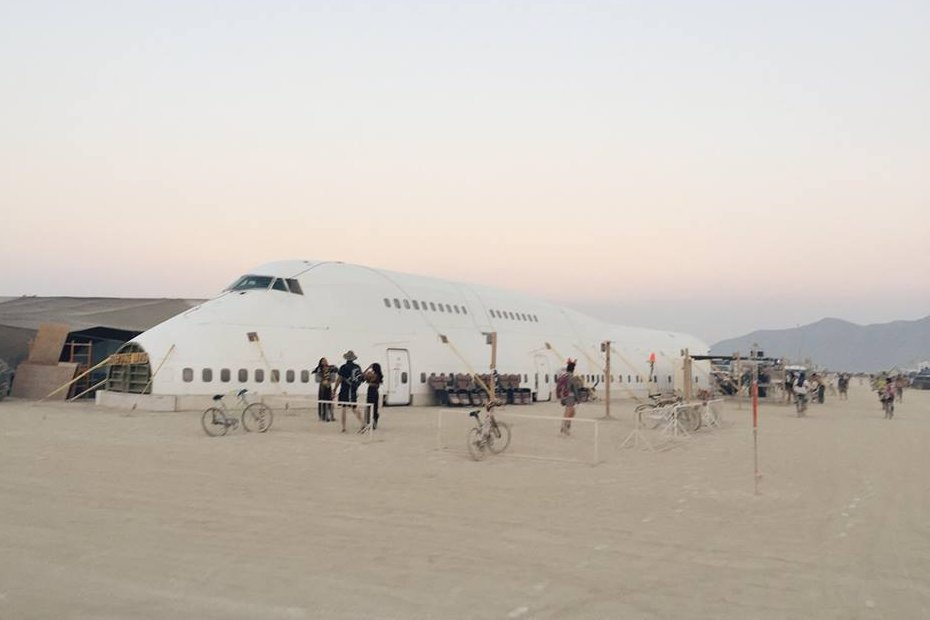 Burning Man Boeing