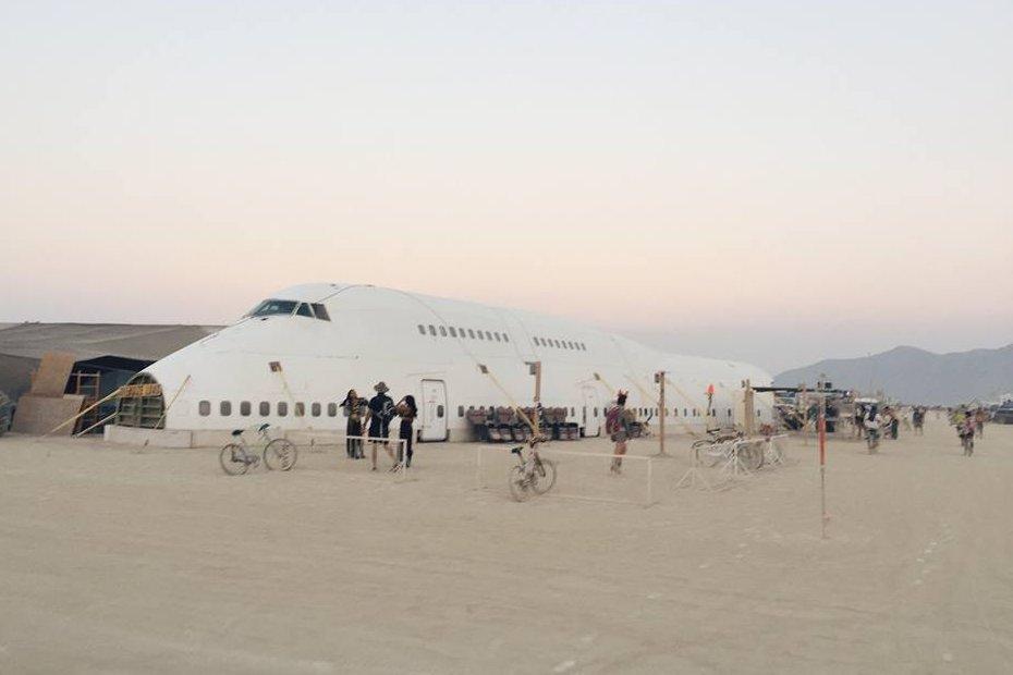 Burning Man Boeing