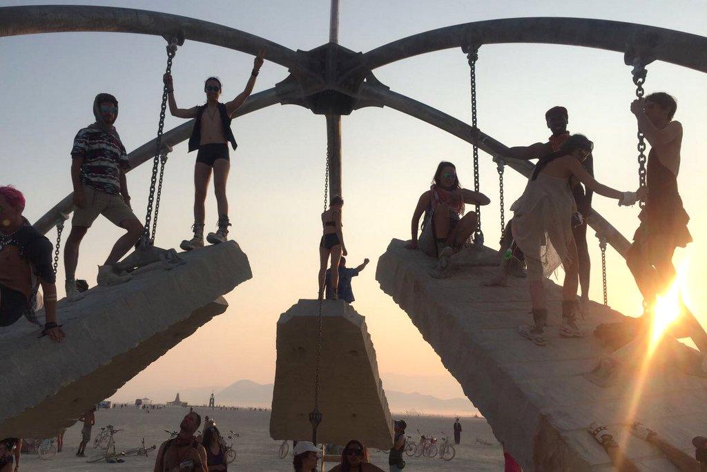Burning Man Temple of Gravity