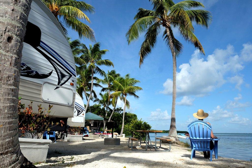 Camping am Strand Florida Keys