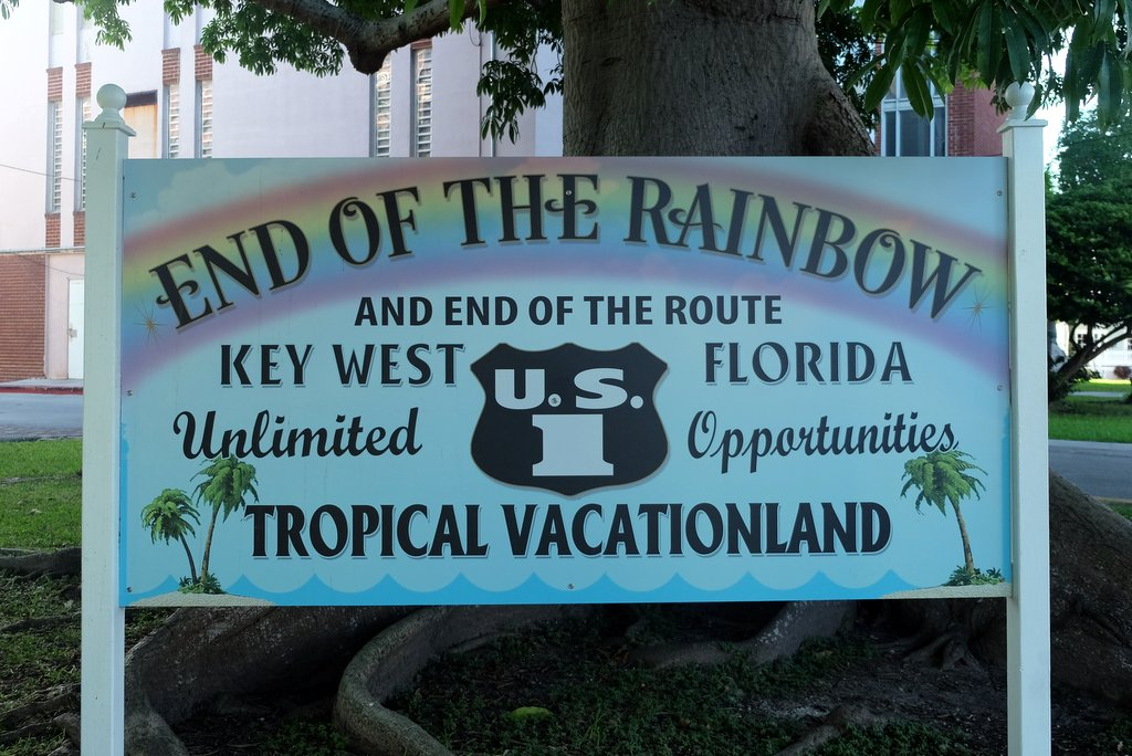 Key West Florida Mile Marker 0