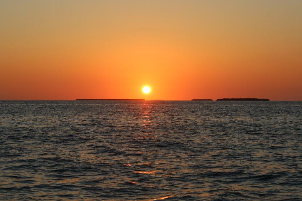 Segeln Sonnenuntergang Key West Florida