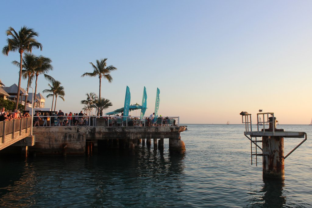 Sonnenuntergang Mallory Square Key West