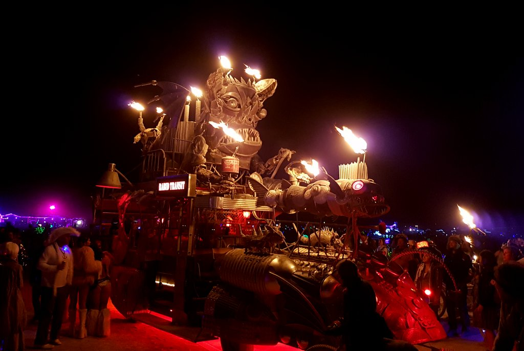 Rabid Transit Art Car Burning Man 2017