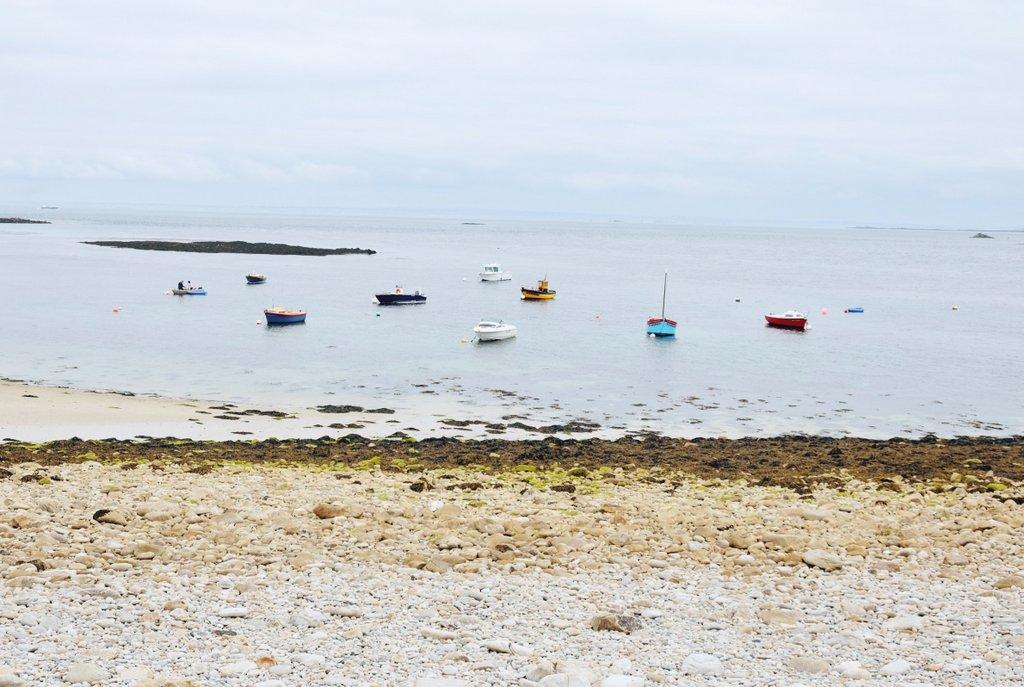 Ile-Molene-Bretagne-Fischerboote