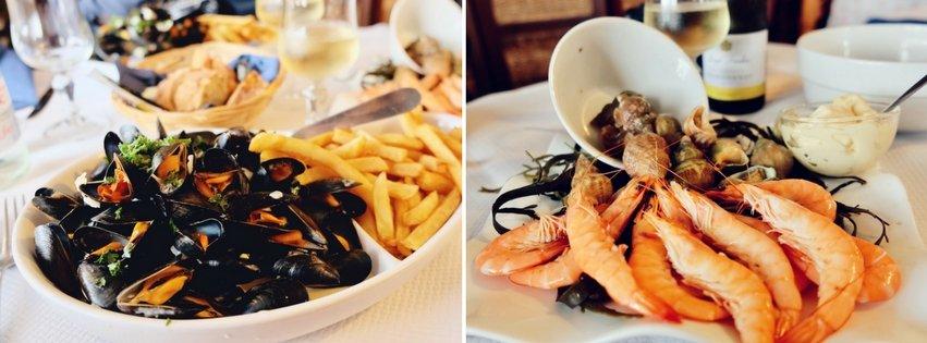 Meeresfruechte Bretagne kulinarisch