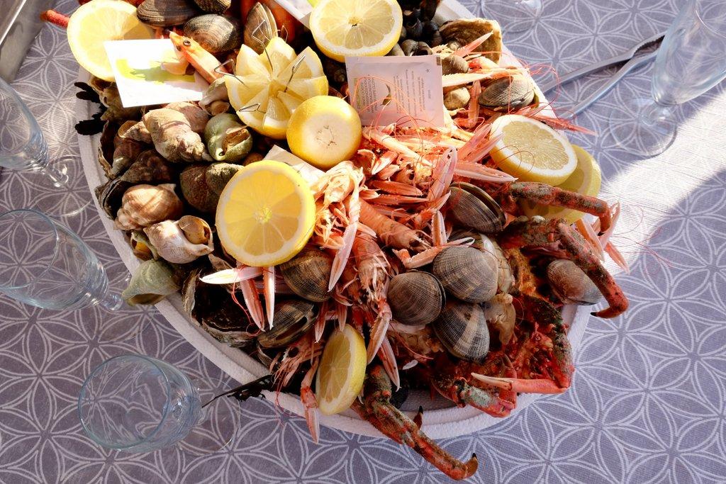 Seafood Meeresfruechte Bretagne segeln