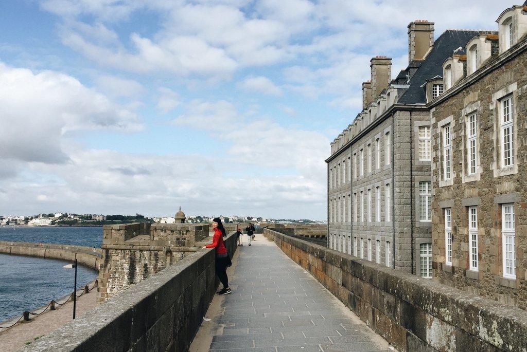 St-Malo-Altstadt-Mauern
