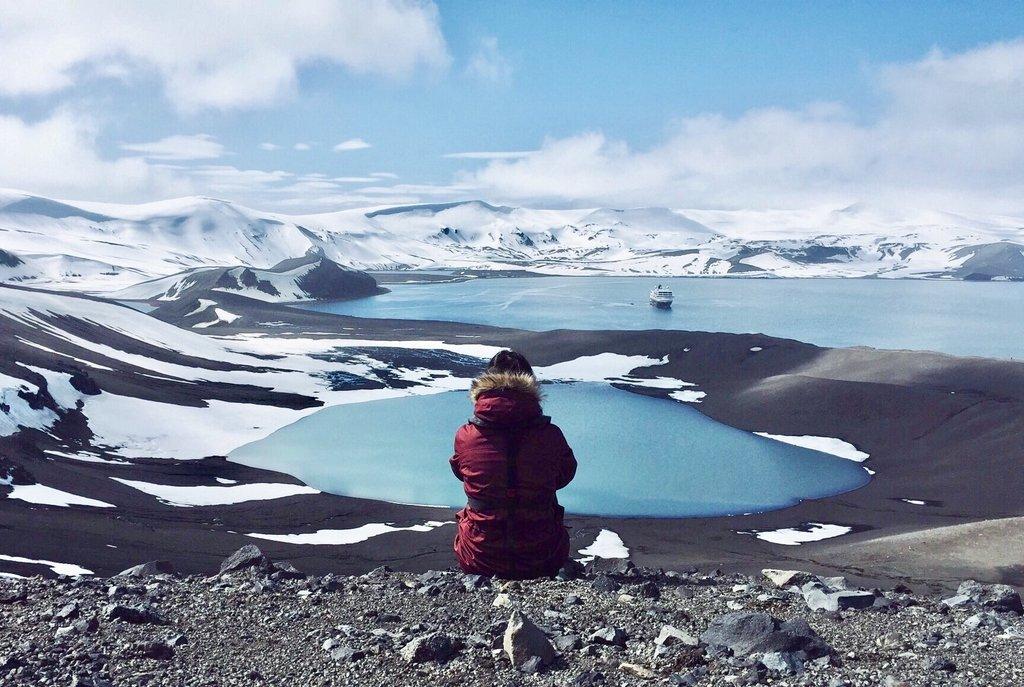 Antarktis-Wandern-Vulkan-Deception-Island