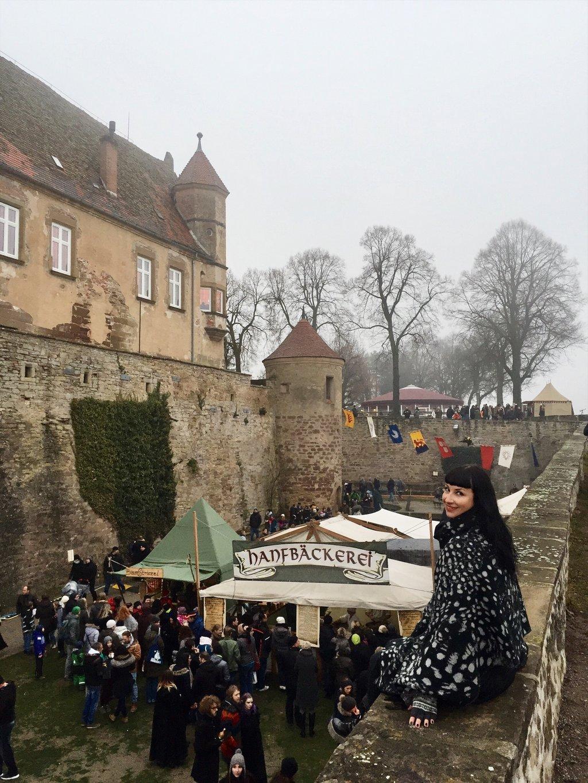 Mittelaltermarkt-Weihnachtsmarkt-Burg-Stettenfels-Heilbronn