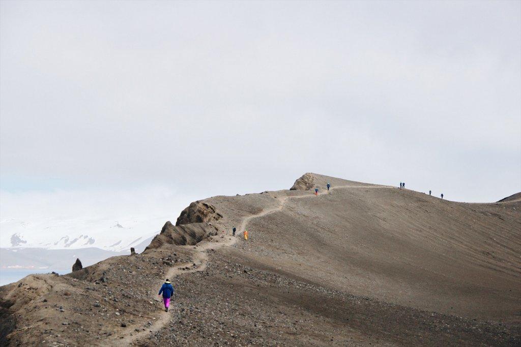 Vulkanwanderung-Antarktis-Deception-Island