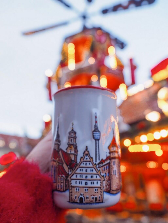 Weihnachtsmarkt Stuttgart Gluehwein