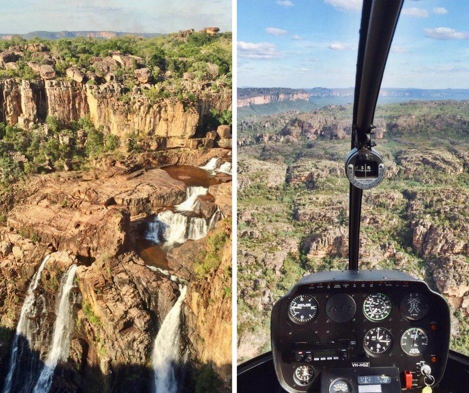 Kakadu Nationalpark Australien Helikoptertour