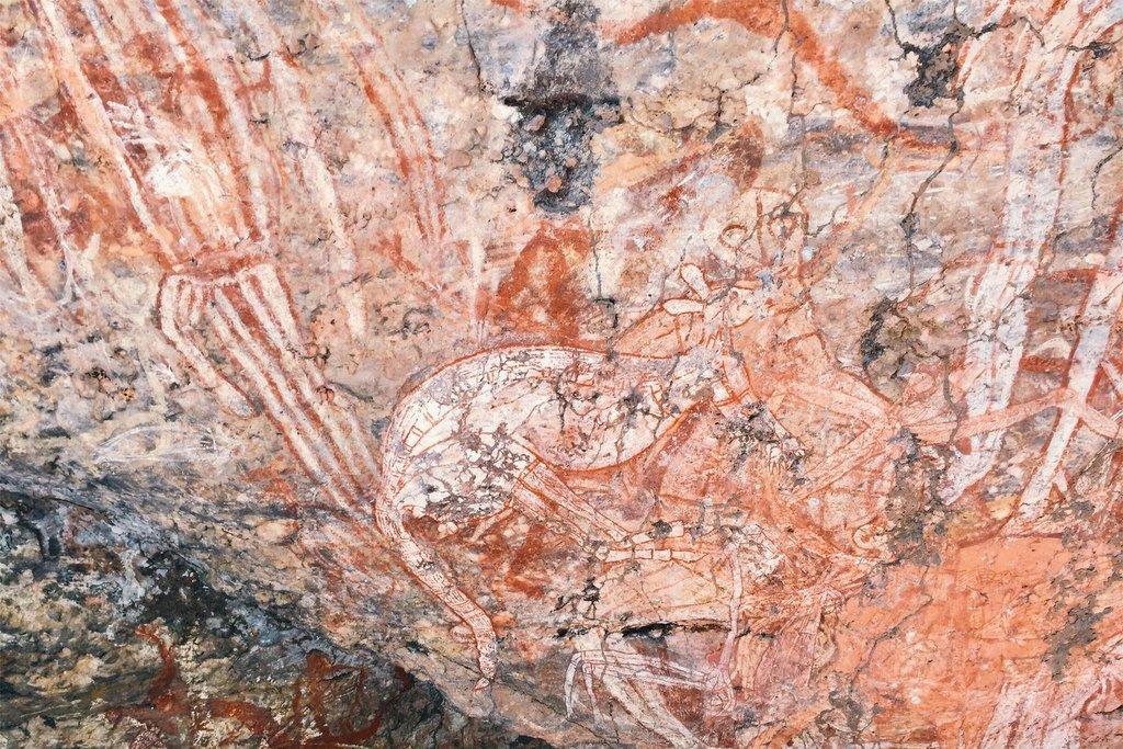 Kakadu-Nationalpark-Felszeichnungen-Aborigines-Ubirr
