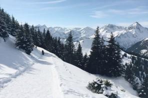Tannheimer Tal Neunerkoepfle Winterwanderweg