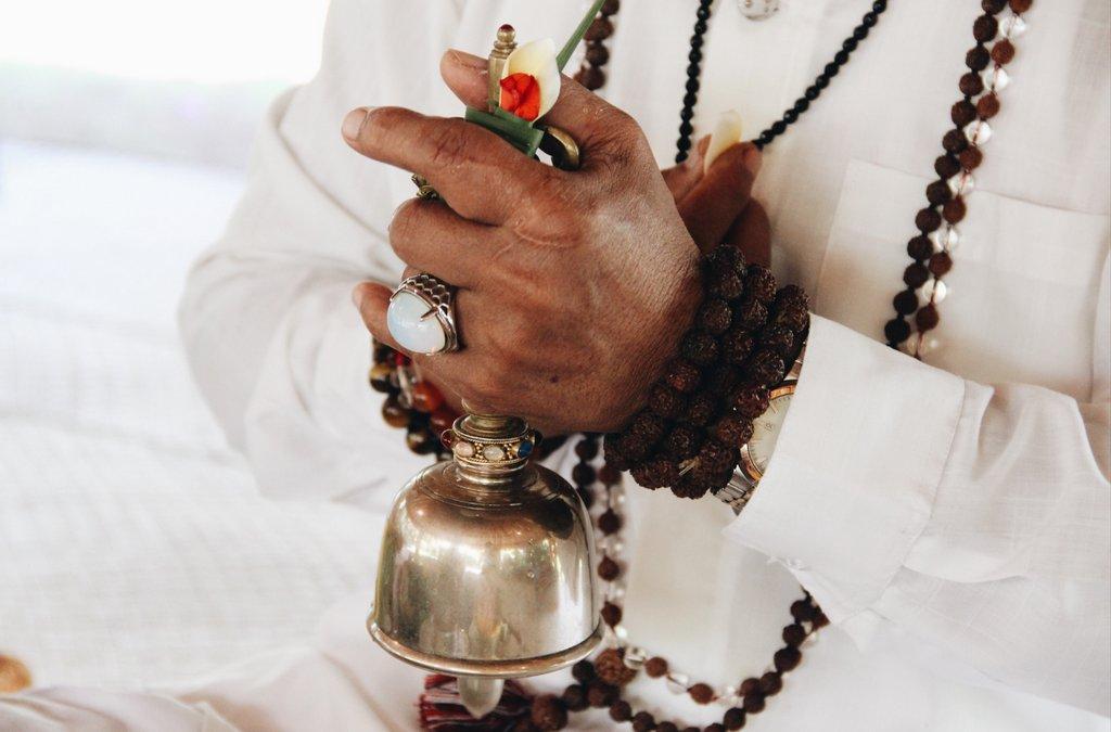 Bali-Zeremonie-Opfergaben