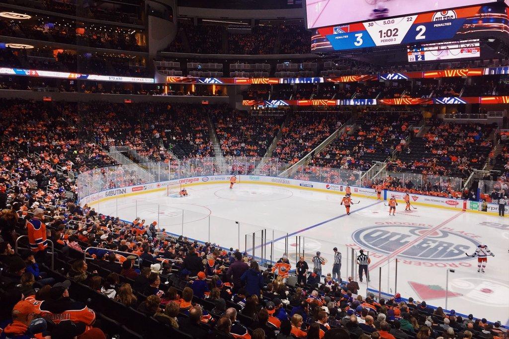 Edmonton-Oilers-NHL-Eishockey-Spiel