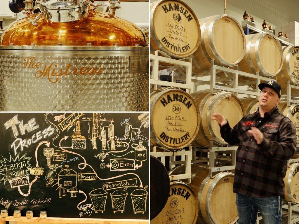 Hansen Distillery Edmonton Gin Wodka Whisky