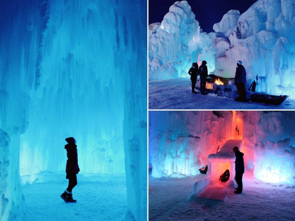 Ice Castles Edmonton Alberta