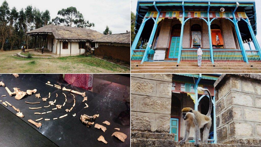 Addis Abeba Aethiopien Sehenswuerdigkeiten Lucy Entoto