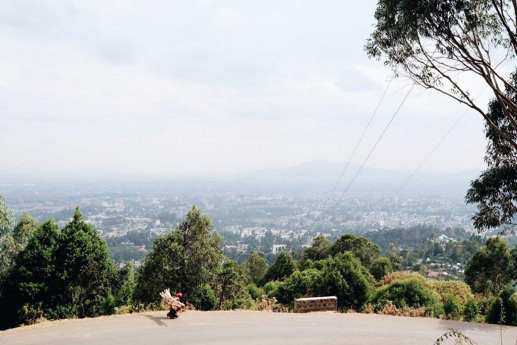 Addis-Abeba-Blick-vom-Mount-Entoto