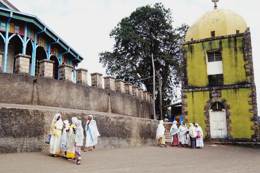 Addis-Abeba-St-Maryam-Kirche
