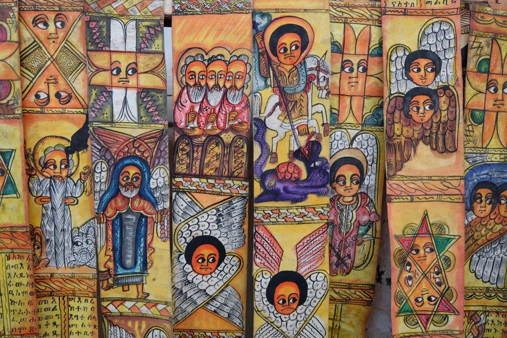 Aethiopien Souvenirs Mitbringsel Lalibela