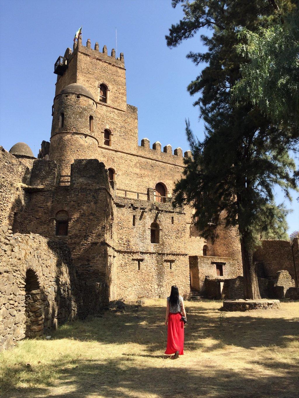 Gondar-Aethiopien-Palastbezirk-Sehenswuerdigkeiten