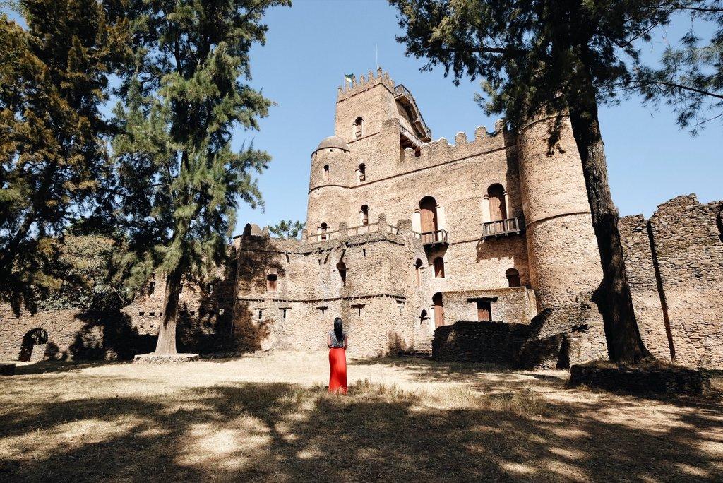 Gonder-Aethiopien-Palast