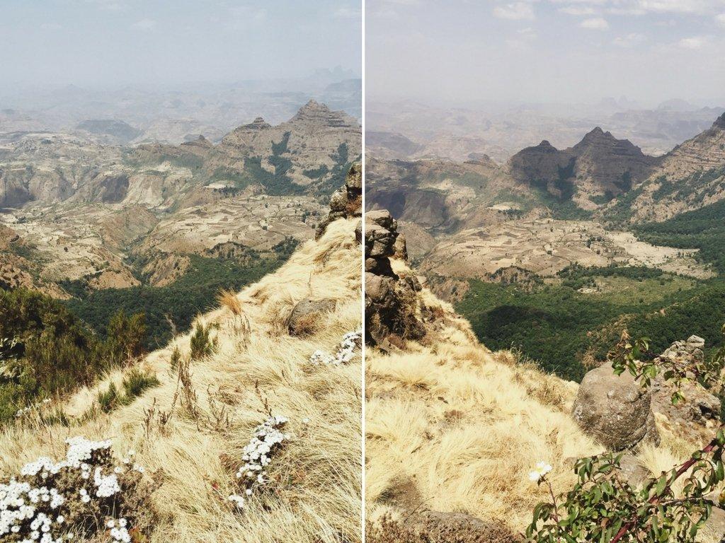 Simien Mountains Sehenswuerdigkeiten Aethiopien