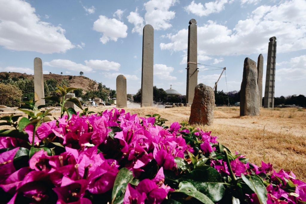 Stelen-Axum-Aethiopien
