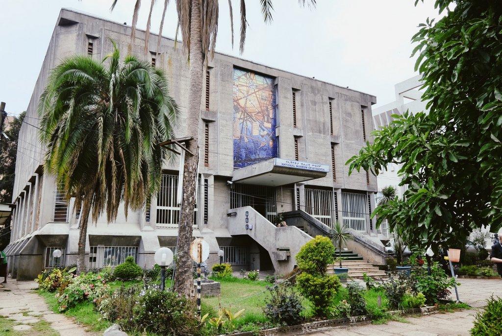 Addis-Abeba-Sehenswuerdigkeiten-Nationalmuseum