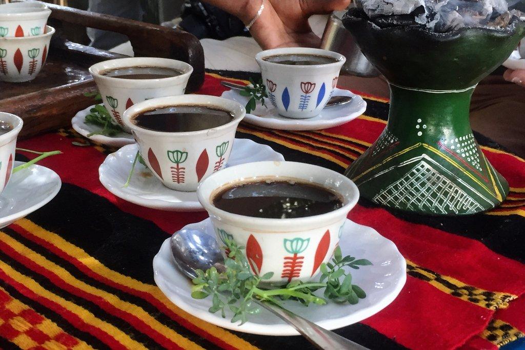 Kaffee-Aethiopien