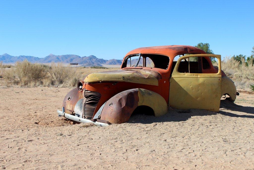 Solitaire Namibia Alte Autos