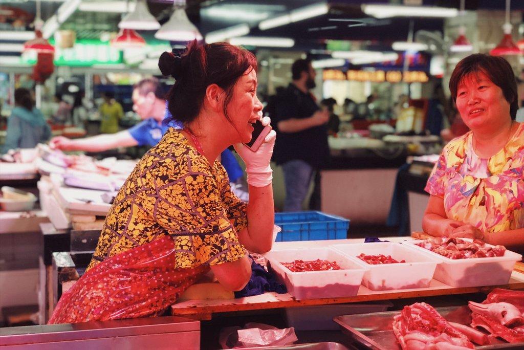 Auf-dem-Markt-Suzhou-China