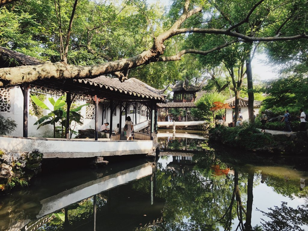 Garten-des-bescheidenen-Beamten-Suzhou