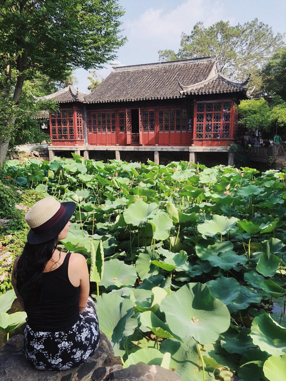 Suzhou-Garten-des-bescheidenen-Beamten