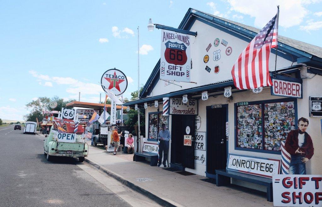 Seligman-Route-66-Westen-USA