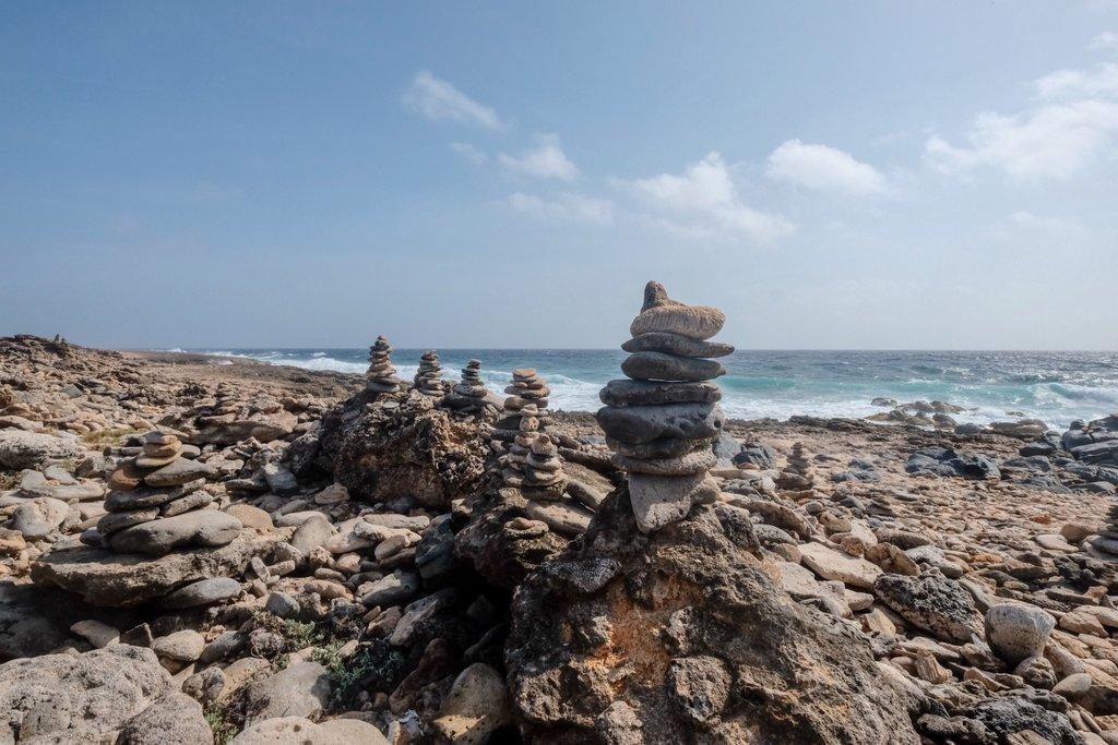 Arubas-raue-Nordkueste
