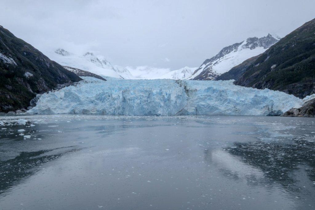 Garibaldi Gletscher Fjord Chile Feuerland