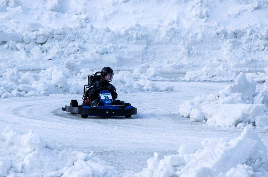 Icekarting Levi Finnland Lappland